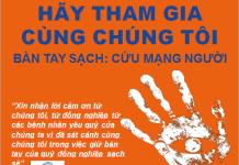 bàn tay sạch