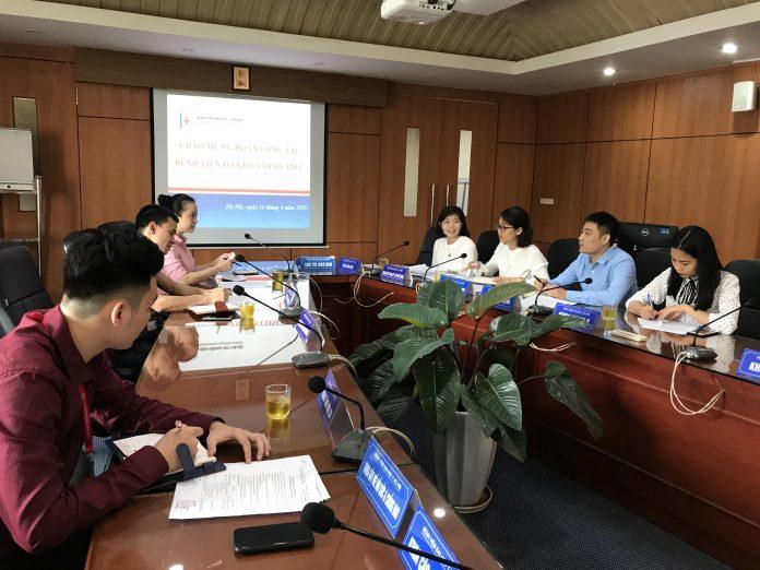 Buổi làm việc giữa Bệnh viện Đại học Y Hà Nội và Bệnh viện đa khoa Medlatec